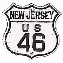 Historic shield for US 46 in New Jersey
