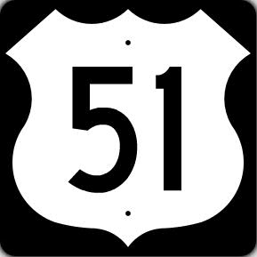 US 51 Shield