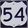 US 54 Shield