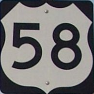 US 58 Shield